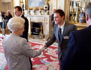Steve Jackson meets Her Majesty The Queen