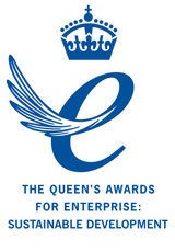 Logo for The Queen's Awards for Enterprise: Sustainable Development 2010
